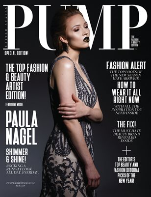 PUMP Magazine - February Fashion & Beauty Edition