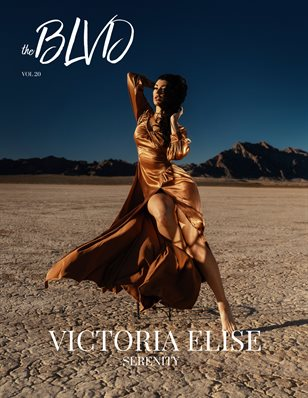The Boulevard Magazine Vol. 20 ft. VICTORIA ELISE
