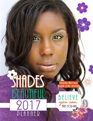 2017 Shades of Beautiful Planner