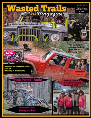 Wasted Trails 4x4 Magazine May 2014 vol 12