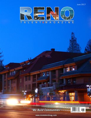 Reno Talent Magazine June 2017 Edition