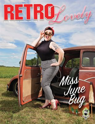 HOT RODS 2020 Vol 2 - Miss June Bug Cover