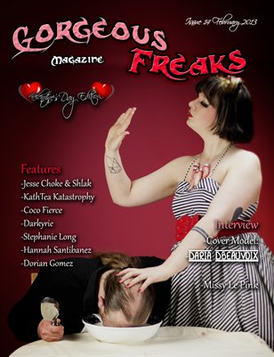 Issue14 Valentine Edition Model Cover: Daria D'Beauvoix