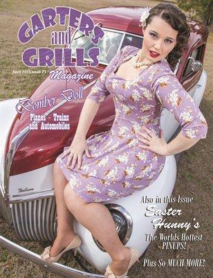April 2015 Bomber Doll Cover