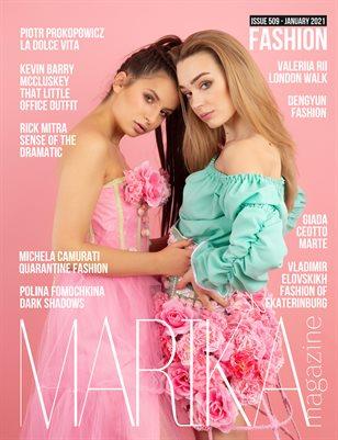 MARIKA MAGAZINE FASHION (ISSUE 509 - January)