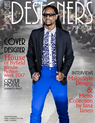 World Class Designers Magazine with House of Byfield in Warsaw