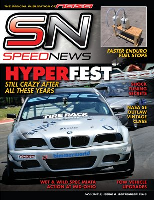 Speed News Magazine September 2013