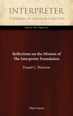 Reflections on the Mission of The Interpreter Foundation