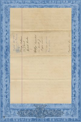 (PAGES 1-2) 1854 DEED GEORGE ADAMS TO JACOB BAKER, HARDIN COUNTY, TENNESSEE