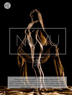 NUVU Magazine Nude Book 48 FeaturingAna Eve