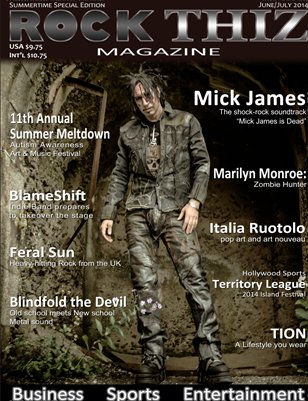 Rock Thiz Magazine June/July Summertime Special Edition 2014