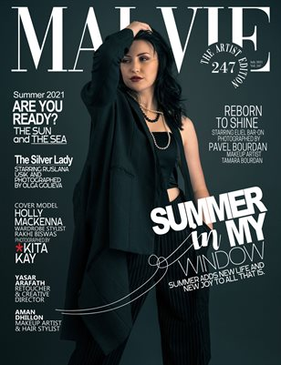 MALVIE Magazine The Artist Edition Vol 247 July 2021