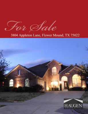 Haugen Properties - 3804 Appleton Lane, Flower Mound, TX 75022