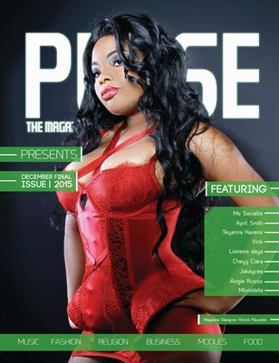 Pulse The Magazine Final Lingerie Issue 2015