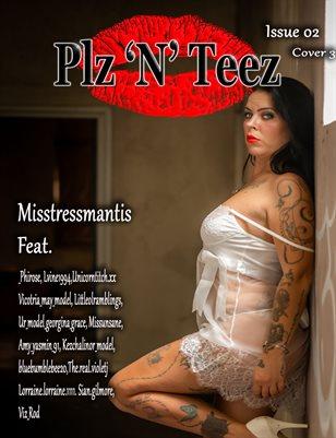 Plz 'N' Teez Magazine Issue 02 Cover 3