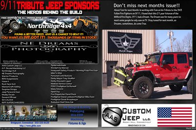 9/11 Tribute Jeep Top-offroaders Magazine P.7-8