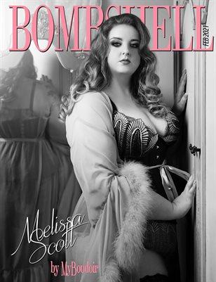 BOMBSHELL Magazine February 2021 - BOOK 2 - Melissa Scott Cover