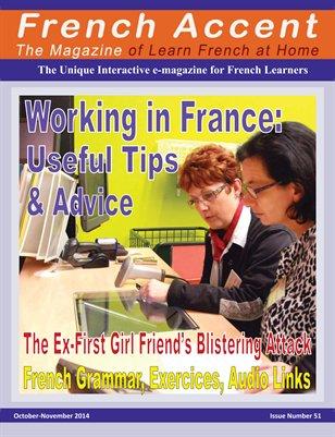 French Accent Magazine - October-November 2014