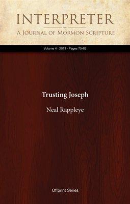 Trusting Joseph