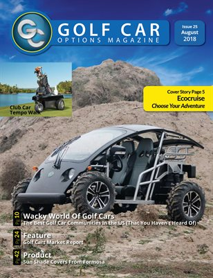 Golf Car Options Magazine - August 2018