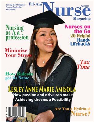 Nurse Lesley Amisola April 2017