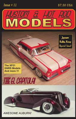 Kustom and Hot Rod Models Magazine - Digest Issue 11