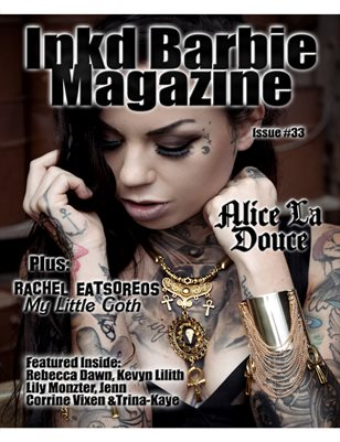 Inkd Barbie Magazine Issue #33 Alice La Douce