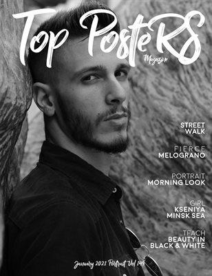 TOP POSTERS MAGAZINE - JANUARY PORTRAIT (Vol 149)