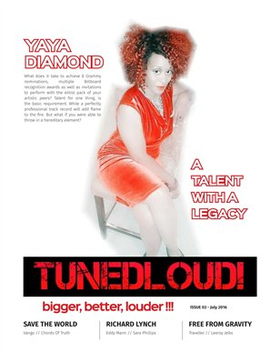 TunedLoud Magazine July  2016