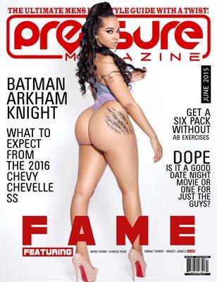 PRESSURE - June 2015 #11 (Fame)