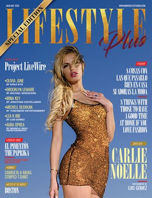 LFESTYLE PLUS MAGAZINE  SPECIAL EDITION JULY - AUGUST 2020