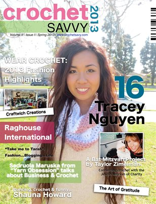 Crochet Savvy Magazine Spring 2013 Issue