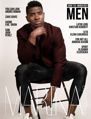 MARIKA MAGAZINE MEN (ISSUE 715 - MARCH)