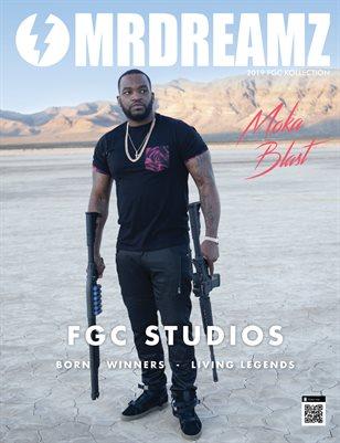 Mr Dreamz magazine 2019 Moka Blast FGC Studios