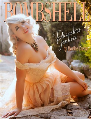 BOMBSHELL Magazine April 2021 BOOK 1 - Diandra Godiva Cover