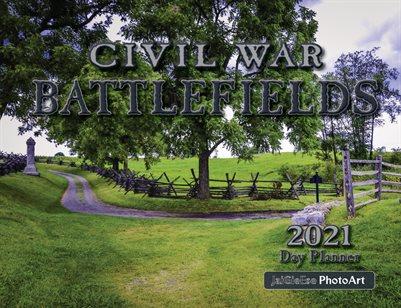 2021 Civil War Battlefields Day Planner