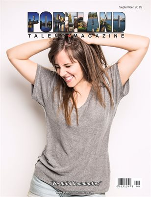 Portland Talent Magazine September 2015 Edition