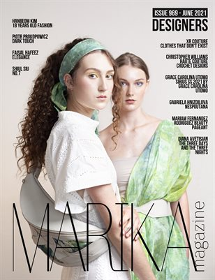 MARIKA MAGAZINE DESIGNERS (ISSUE 969 - JUNE)