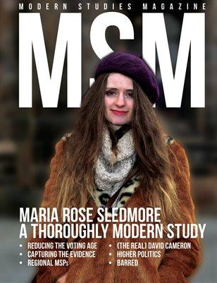 Modern Studies Magazine 1