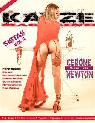 Kayze Magazine Issue 40 -CERONE NEWTON -SISTAS VOL2