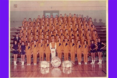 1963 Lone Oak High School Band, McCracken County, Kentucky