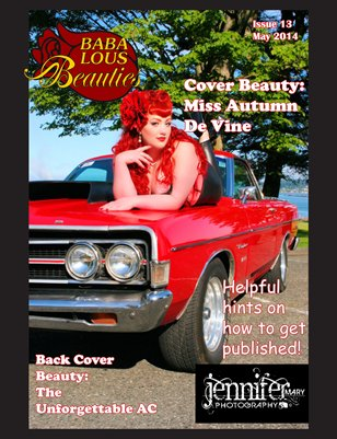 Baba Lous Beauties- May Anything Pin Up Issue 132014