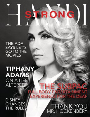 HandiStrong Magazine . November 2014 . Arts & Entertainment