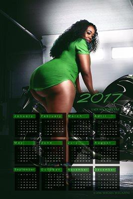 Lady Macknificent 2017 Calendar