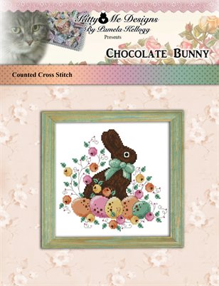 Chocolate Bunny Cross Stitch Pattern