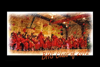 BHS Class of 2012 Poster Print