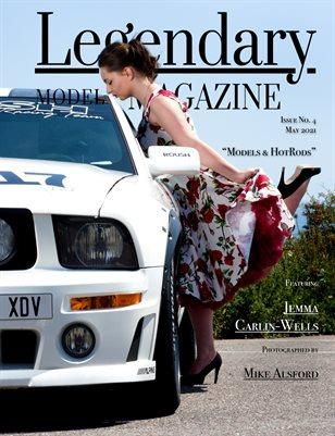 Issue No. 4 - Models & HotRods - Legendary Model Magazine