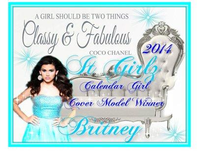 IT GIRLZ 2014 Calendar Girlz