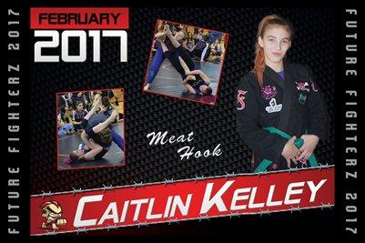 Caitlin Kelley Cal Poster 2017