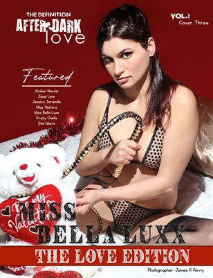 TDM After Dark: Miss Bella Luxx Valentine issue1 cover 3 2021